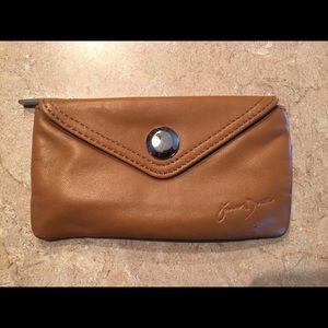 Jason Drake leather coin purse